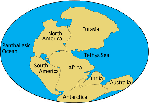 pangaea theory Pangea, also spelled pangaea, was a supercontinent that existed on the earth millions of years ago and covered about one-third of its surface a supercontinent is a very large landmass that is made up of more than one continent in the case of pangea, nearly all of the earth's continents were.